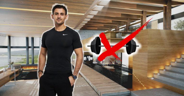 3 règles d'or pour perdre du poids ou te muscler à la maison.